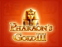 Pharaohs Gold III - автоматы Вулкан